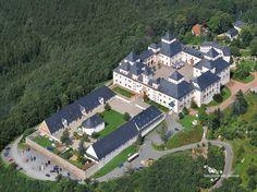 Schloss Augustusburg - Luftaufnahme