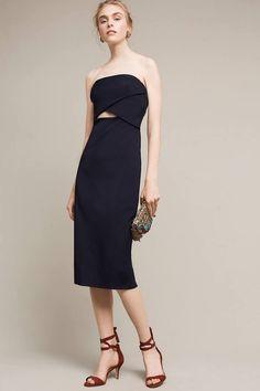 ML Monique Lhuillier Rome Cutout Dress