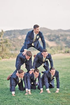 This Groomsmen Photos Poses Ideas You Can't Miss 30 image is part from Spectacular Groomsmen Photos Poses Ideas That You Can't Miss gallery and article, click read it bellow to see high resolutions quality image and another awesome image ideas. Funny Groomsmen Photos, Groomsmen Wedding Photos, Funny Wedding Photos, Bridesmaids And Groomsmen, Wedding Pictures, Groomsmen Poses, Groom Poses, Wedding Photography Poses, Wedding Poses
