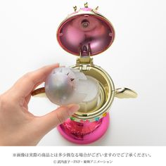 Premium Bandai is releasing a Sailor Moon Holy Grail Rainbow Moon Chalice room fragrance! Fill your room with a floral fruity scent called Serenity Bouquet.