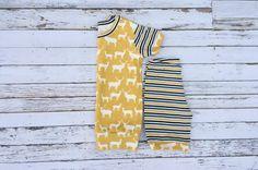 Short sleeve knit pajama pattern   DIY Crush