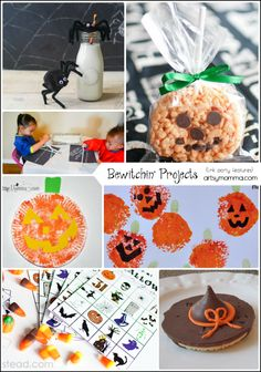 Last Minute Halloween Activities and Snacks #BewitchinProjects