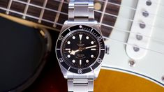HODINKEE: A Week On The Wrist The New Tudor Heritage Black Bay Black Reference 79220N, By John Mayer