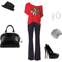"""Night Out"" by fashngirl66 on Polyvore"