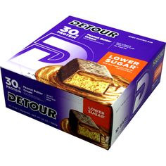 Forward Foods Detour Bar Lower Sugar Peanut Butter Cream 12 ct | Regular Price: $40.68, Sale Price: $29.99 | OvernightSupplements.com | #onSale #supplements #specials #Detour(ForwardFoods) #ProteinBars  | Detour protein bars provide serious nutrition for athletes Are you ready for 30 grams of high quality protein If you push yourself to finish that extra lap circuit or set then the answer is probably yes Detour s nutrient rich whey protein blend helps to repairs and rebuild s