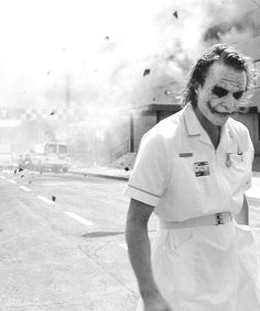 Heath Ledger's Joker. My favorite scene, incredible knowing the last part was unscripted. Such a good actor.