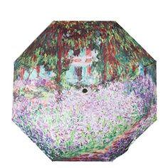 Fishon Too-Ms. Sun Umbrella Secret Garden Design Dual-use Folding Rain or Shine *** Wow! I love this. Check it out now! : Umbrella Racks