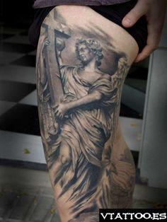 Ángel de Bernini del Puente de Sant angelo