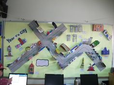 City Model Display, Classroom Display, class display, build, city, place, town, geography, places, buildings,Early Years (EYFS),KS1 & KS2 Primary Resources