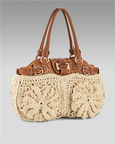 Salvatore Ferragamo crochet purse