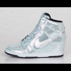 Nike dunk sky high - QS Gorgeous sequin one of a kind Nike Dunk Sky High ec0ed7751ff7