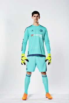 Thibaut Courtois: Chelsea Football Club and Adidas today (Thursday 16 July) unveil our new home kit for the 2015/16 season. Read more at http://www.chelseafc.com/news/latest-news/2015/07/new-2015-16-home-kit.html#8ozQwxLO7rD48lQp.99