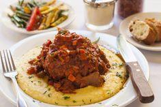 Early Morning Harvest: Italian-Style Beef Ragu with Cheesy Polenta Recipe