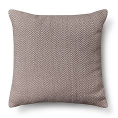 Room Essentials™ Stitch Solid Pillow - Gray : Target