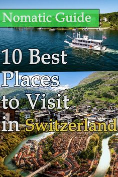 10 Best Places to Visit in Switzerland - NomaticTravel Best Countries To Visit, Cool Countries, Cool Places To Visit, Alpine Meadow, Amazing Destinations, Switzerland, The Good Place, Country, Travel