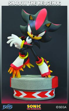 Sonic The Hedgehog Shadow Statue [AUG132244]  Check it out: http://www.amazingspiralcomics.com/item/video-game-collectibles-sonic-/sonic-the-hedgehog-shadow-stat/lid=35730580