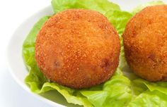 Arancini di riso Veggie Recipes, Vegetarian Recipes, Veggie Food, Learn To Cook, Antipasto, Cooking Classes, Italian Recipes, Baked Potato, Good Food