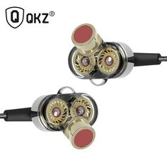 QKZ KD2 In Ear Hifi Earphone 3.5mm Jack Stereo Headset Mobile Fone de ouvido auriculares audifonos earphones gaming headset //Price: $21.25//     #storecharger