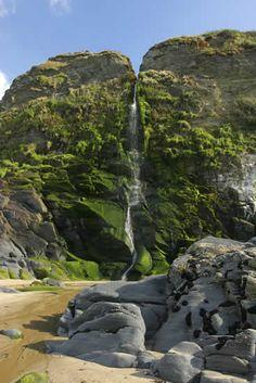 Gwalia Falls ~Tresaith, Cardigan, Ceredigion, UK.