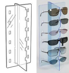 bf5078be84 58 Best Sunglasses display stand images in 2019