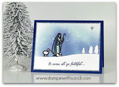 Stampin Up All Ye Faithful for Happy Stampers Blog Hop, created by Sandi @ www.stampinwithsandi.com