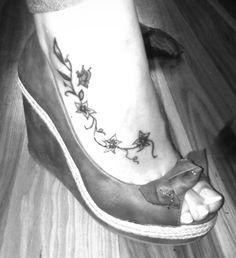 #tattoos #Tatuaże - tatuaże na stopie 4578