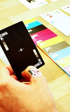CMYK deck of cards for texas hold 'em