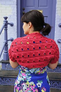 Ravelry: Chickadee Shrug pattern by Tanis Gray Shrug Knitting Pattern, Loom Knitting, Knitting Patterns, Crochet Patterns, Knitting Ideas, Knit Crochet, Crochet Hats, Fiber Art, Ravelry