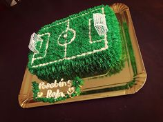 Soccer Birthday Parties, Soccer Party, Birthday Cake, Soccer Ball Cake, Cake Stencil, Cake Makers, Party Themes, Cake Decorating, Backdrops