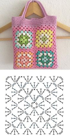 Make lovely bag with this crochet pattern