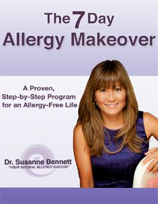 Dr. Susanne Bennett--natural allergy doctor, author and my personal mentor. www.drsusannebennett.com