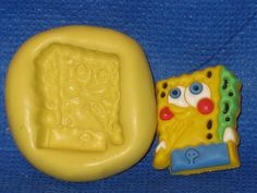 SpongeBob Square Pants Push Mold Food Safe Silicone #512 Cake Topper Resin  Soap Candle by LobsterTailMolds on Etsy