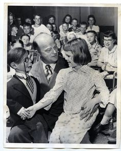 Vintage 1950 Edgar Bergen Amp Charlie McCarthy Cheer Up Young Girl Press Photo | eBay