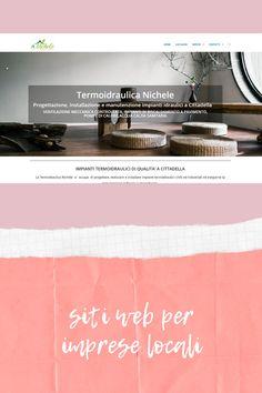 Siti web responsive per imprese locali, con qualsiasi personalizzazione. Web Responsive, Layout, Website, Movie Posters, Ideas, Page Layout, Film Poster, Thoughts, Billboard