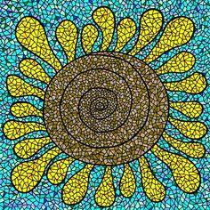 向日葵... 他似乎有著特別的魔力, 每每看見他, 就像在寒冷的冬日迎面接受太陽照耀, 溫暖開心又精神抖擻 ♥