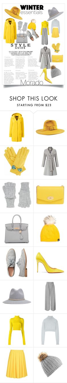 """Y&G"" by andreea-morado ❤ liked on Polyvore featuring Lands' End, Brixton, Gizelle Renee, Miss Selfridge, Accessorize, Mulberry, Hermès, Tallis, Gap and Christian Louboutin"
