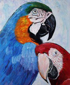 """Posers"" by Julie Hollis. Paintings for Sale. Quirky Art, Weird Art, Australian Artists, Paintings For Sale, Online Art Gallery, Rooster, Original Art, Birds, Artwork"