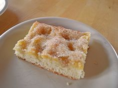 Butterkuchen der immer gelingt - Diet Tips For Beginners Baking Recipes, Cake Recipes, Gateaux Cake, Le Chef, Food Cakes, Coffee Cake, Bread Baking, Food Inspiration, Chocolate Cake