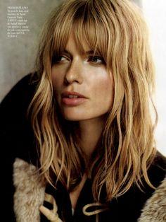 Julia Stegner, Model