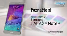 Príslušenstvo pre Samsung Galaxy Note 4. Zakúpte si Samsung Galaxy Note 4 spolu s príslušenstvom! Originálne puzdra, kolísky, držiaky do auta, riešenie pre bezdrôtové nabíjanie, doplnky pre zdravie a fitness a oveľa viac...