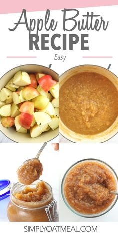 Learn how to make easy apple butter by following the steps in this recipe. Develop a rich golden brown colored apple butter with a complex caramelized taste. Here are the best tips you need to know when making homemade apple butter! Best Cooking Apples, Easy Butter Recipe, Oatmeal Toppings, Homemade Apple Butter, Apple Pie Spice, Butter Ingredients, Food Mills, Golden Brown, Apple Recipes