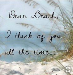 I think of the beach all the time, beach, sand, ocean- My HAPPY PEACEFUL Place ♡ especially with my hubby ! Playa Beach, Ocean Beach, Beach Bum, Beach Trip, Beach Cabana, Waikiki Beach, City Beach, Ocean City, Ocean Waves
