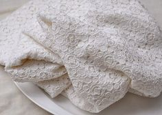 White Cotton Crocheted Lace Fabric by the yard ======MATERIAL====== cotton mixed =====MEASUREMENT===== <Size> 53 in width =======COLOR======== Cotton Crochet, Cotton Lace, Crochet Lace, White Cotton, White Lace Fabric, Embroidered Lace Fabric, White Fabrics, Wedding Fabric, Wedding Lace
