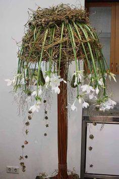 Modern European flower design - Eucharis lilies - Hello from Holland and IFTF! - International Floriculture Trade Fair