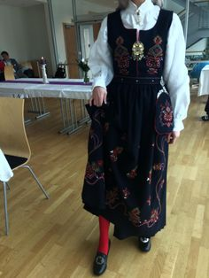Norway's traditional national dress the bunad