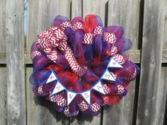 Check out the latest addition to my Etsy shop! KU Jayhawks Deco Mesh Wreath by BabesnBowsBoutique on Etsy, $50.00