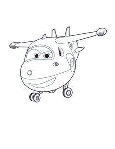 Super Wings - Jett – Super Wings Coloring Pages for Kids Coloring Pages For Boys, Coloring Pages To Print, Colouring Pages, Printable Coloring Pages, Plane Drawing, Cool Car Drawings, Simple Line Drawings, Cartoon Plane, Cartoon Kids