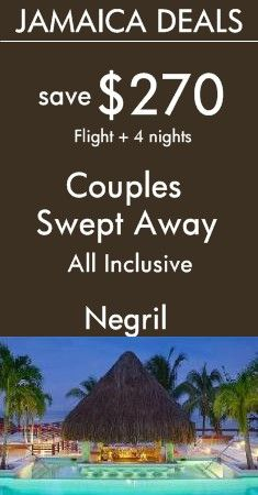 Negril - Jamaica: Couples Swept Away All Inclusive Resort | Get swept up in each other in Negril | Seven Mile Beach, Unlimited Golf and Full-Service Spa! View All Deals!