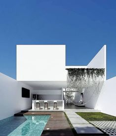 The Battle Over Modern House Design Architecture And How To Win It 180 - Pecansthomedecor Architecture Design, Minimalist Architecture, Modern Architecture House, Architectural Design House Plans, Minimalist House Design, Minimalist Home, Modern House Design, Villa Design, Exterior Design