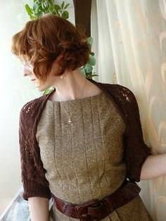 Ravelry: Chocolate Shrug pattern by Katya Gorbacheva